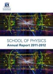 Annual Report 2011-2012.pdf - School of Physics - University of ...