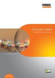 RV-Systém OSMA® - PCV Alfa sro