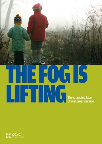 Fog is Lifting - Institute of Customer Service