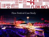 Flow Festival Case Study - Go Group