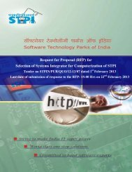 Request for Proposal (RFP) - Software Technology Park of India ...