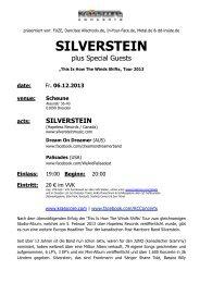 SILVERSTEIN - Krasscore