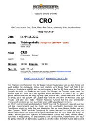 CRO - Krasscore
