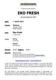 Eko Fresh - Krasscore