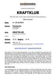 KRAFTKLUB - Krasscore