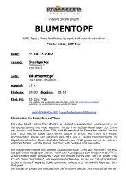 BLUMENTOPF - Krasscore