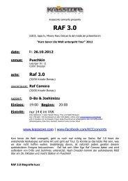RAF 3.0 - Krasscore