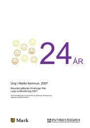 Lupp-undersökning - 24-åringar - Marks kommun