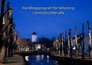 Handlingsprogrammet för belysning - Uddevalla kommun