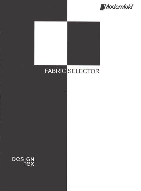 Modernfold/DesignTex Fabric Color Selector