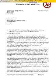 Schreiben an den Deutschen Bundestag vom 01.09.2010
