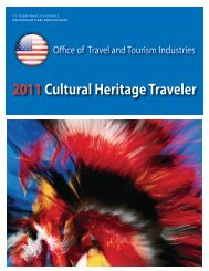 Cultural Heritage - Office of Travel and Tourism Industries