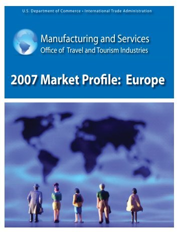 Europe - Tourism Industries - Department of Commerce