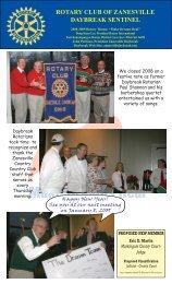 Rotary Newsletter 2008.indd - Zanesville Daybreak Rotary