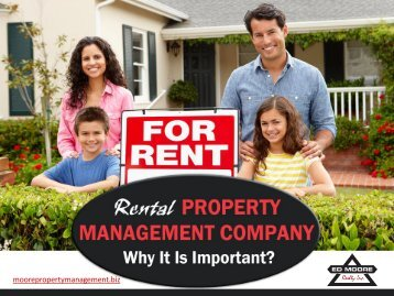 Property Management in La Mirada – Reasons to Choose!