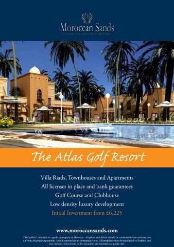 The Atlas Golf Resort - Morocco Property