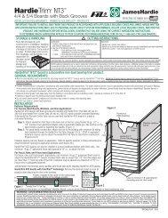 HardieTrim 5-4 Installation Inst_HZ5_1