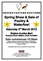 Spring Show & Sale of Show & Sale of Show & Sale ... - CCM Auctions