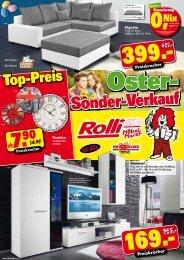 Oster-Sonderverkauf bei Rolli!