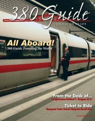 All Aboard! - 380Guide Magazine