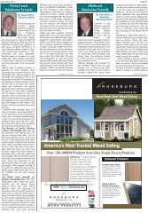 America's Most Trusted Wood Siding - Miller Publishing Corporation