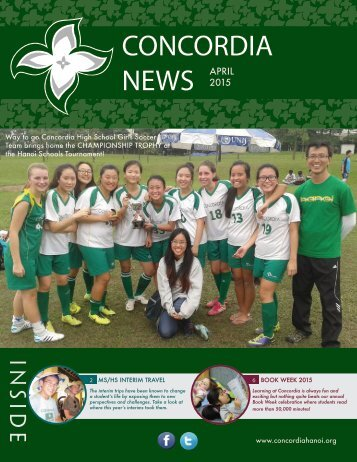 CONCORDIA Hanoi NEWS April 2015