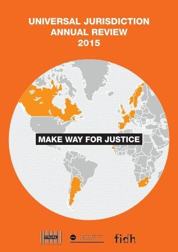 Universal Jurisdiction Annual Review_2015_04_14