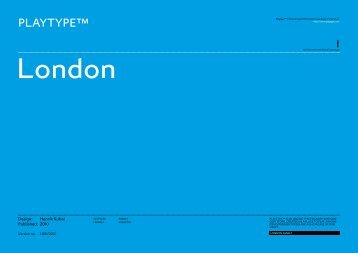 London - Playtype