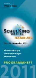 Programmheft - Schulkinowochen-Hamburg