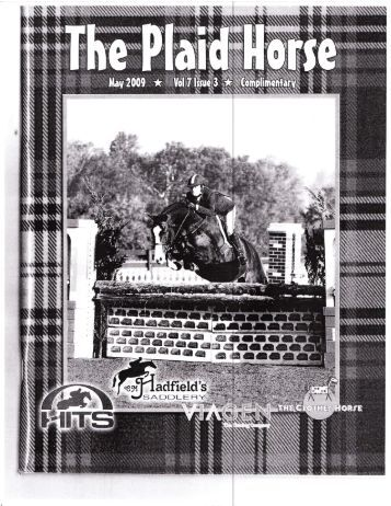 The Plaid Horse - May, 2009 - Phelps Media Group
