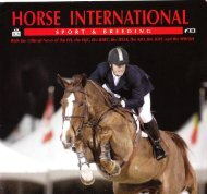 Horse International - No. 3 - 2009 - Phelps Media Group
