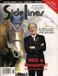 Sidelines - September 2010 - Phelps Media Group