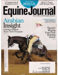 Equine Journal - August 2012 - Phelps Media Group