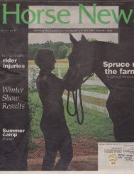 Horse News - March 2011 - Phelps Media Group
