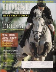 Horse Sport International - 2012 Issue 2 - Phelps Media Group