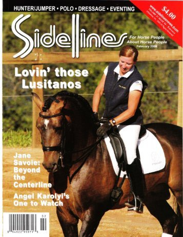 Sidelines - February, 2009 - Phelps Media Group