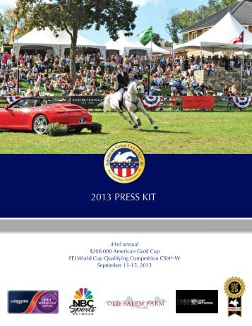 2013 PRESS KIT - Phelps Media Group