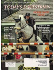 Today's Equestrian - August 2011 - Phelps Media Group