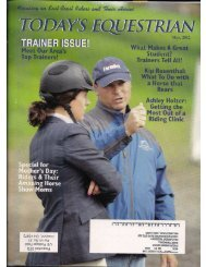 Today's Equestrian - May 2012 - Phelps Media Group
