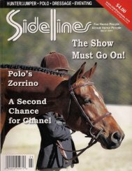 Sidelines -March 2011 - Phelps Media Group