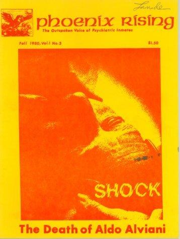 Vol. 1, No. 3 - Psychiatric Survivor Archives of Toronto