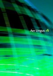 annual report 2009 - Corporate Aer Lingus