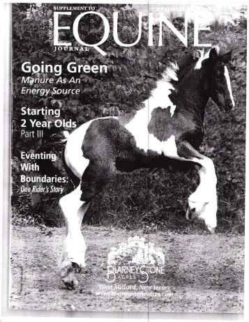 Equine Journal - May, 2009 - Phelps Media Group