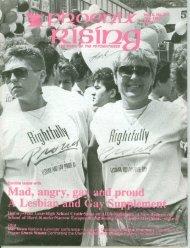 Vol. 8, No. 3/4 - Psychiatric Survivor Archives of Toronto