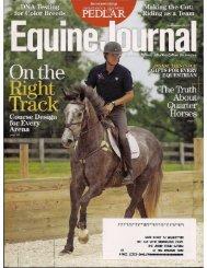 Equine Journal - November 2012 - Phelps Media Group