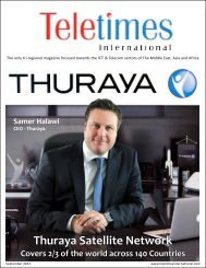 Thuraya Satellite Network - Teletimes International
