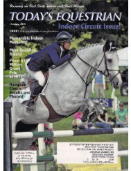 Today's Equestrian - October 2010 - Phelps Media Group