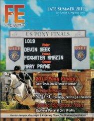 Florida Equestrian Magazine - Aug-Sep 2012 - Phelps Media Group