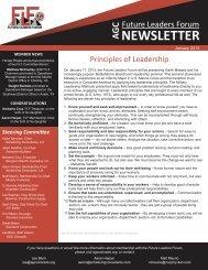 January - Association of General Contractors