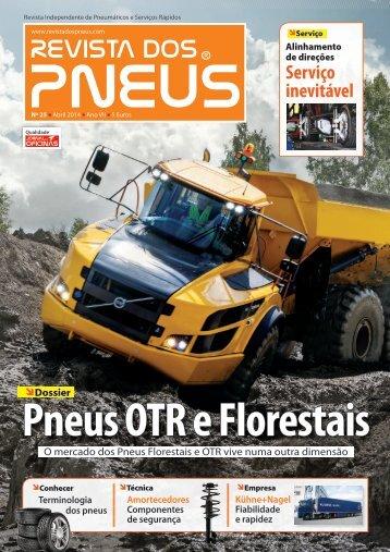 Revista dos Pneus 025 - Abril 2014